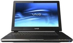 Sony VAIO AR (front view)